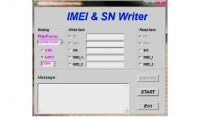 SN Write Tool Download(Official IMEI Writer) with Tutorial