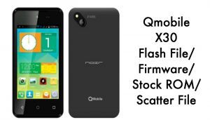 qmobile-x30-flash-file